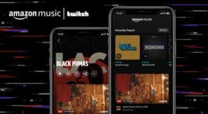 Cómo añadir transmisiones en vivo de tu Twitch a Amazon Music